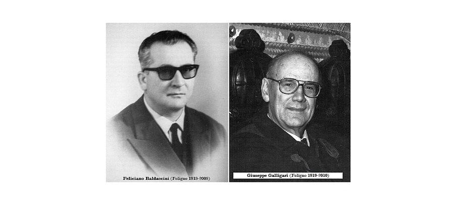 Feliciano Baldaccini e Giuseppe Galligari
