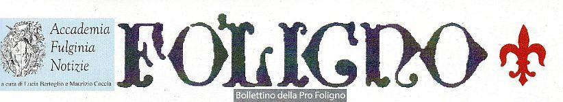 Accademia Fulginia Notizie