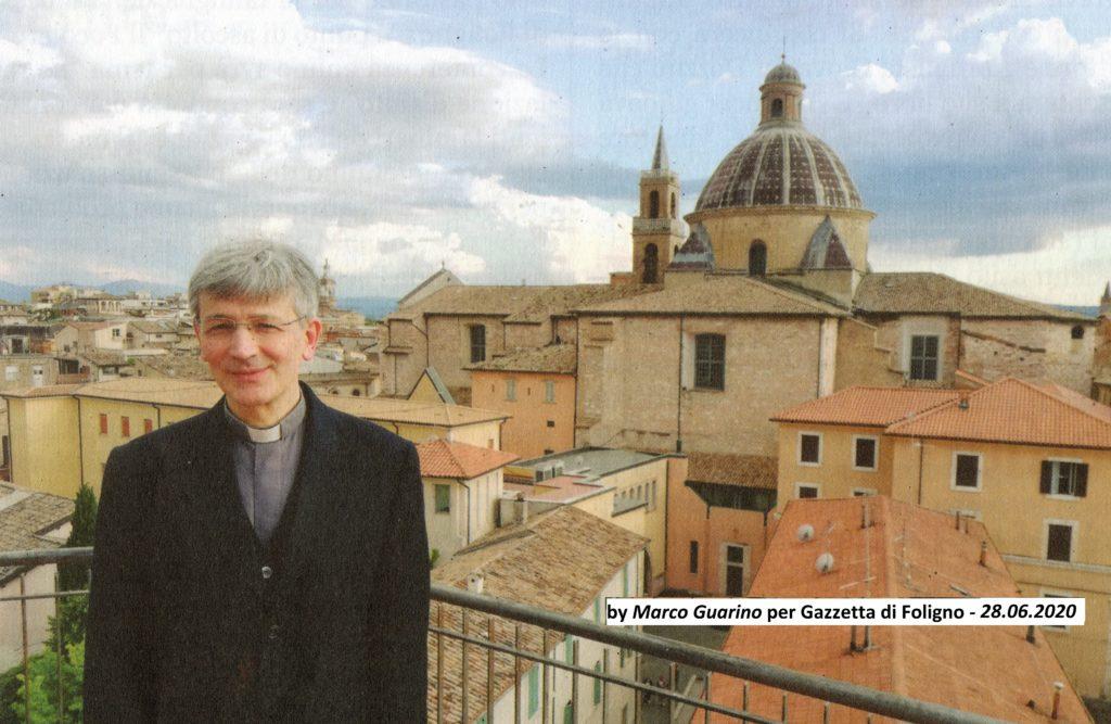 Il vescovo Gualtiero Sigismondi a Foligno - by Marco Guarino 2020