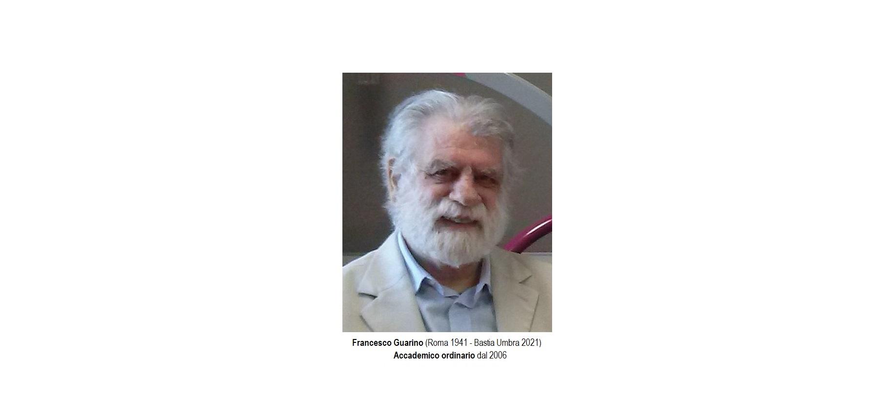 Francesco Guarino - testata