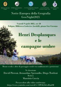 Notte europea della Geografia - GeoNight2021 @ Biblioteca Lodovico Jacobilli